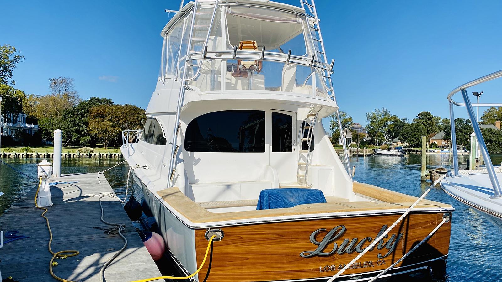 Boat Outside